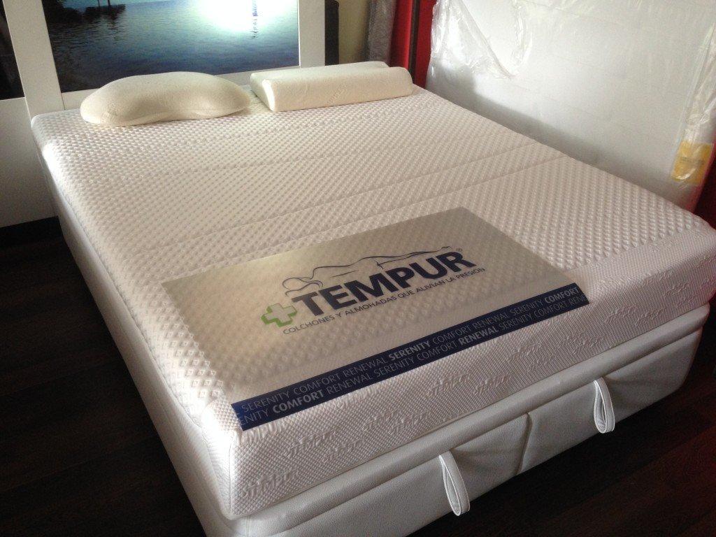 colchon tempur original deluxe 22 150 190 cm outlet. Black Bedroom Furniture Sets. Home Design Ideas