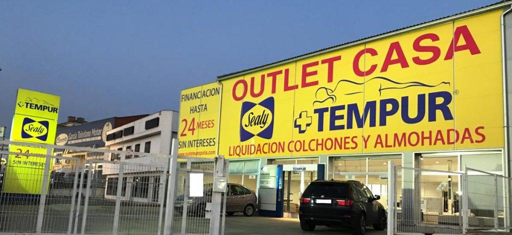 Outlet Casa Toledo - fachada