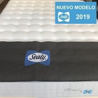 Colchón Sealy Cloud pack con base