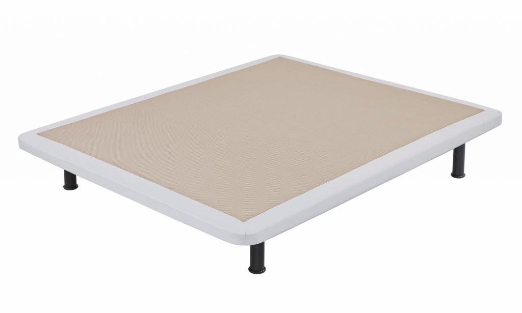 Base tapizada para colchón.